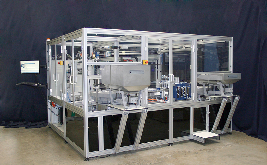 Vial Filling, Capping and Packaging System Labman