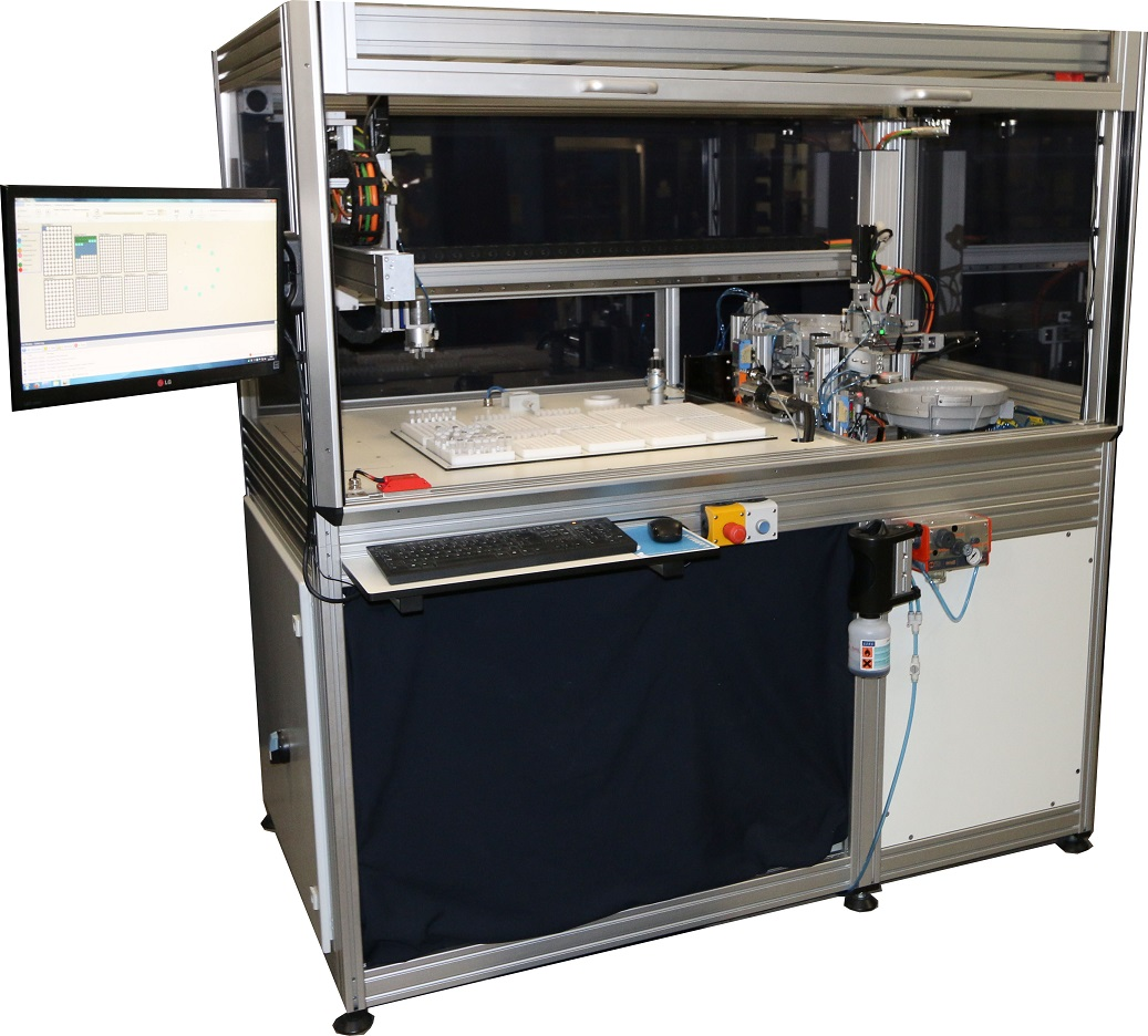 Automatic Dispensing Systems ~ Automated seed dispensing system labman automation