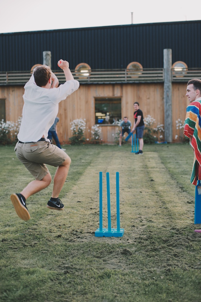 Labman Labfiesta poncho cricket summer party office