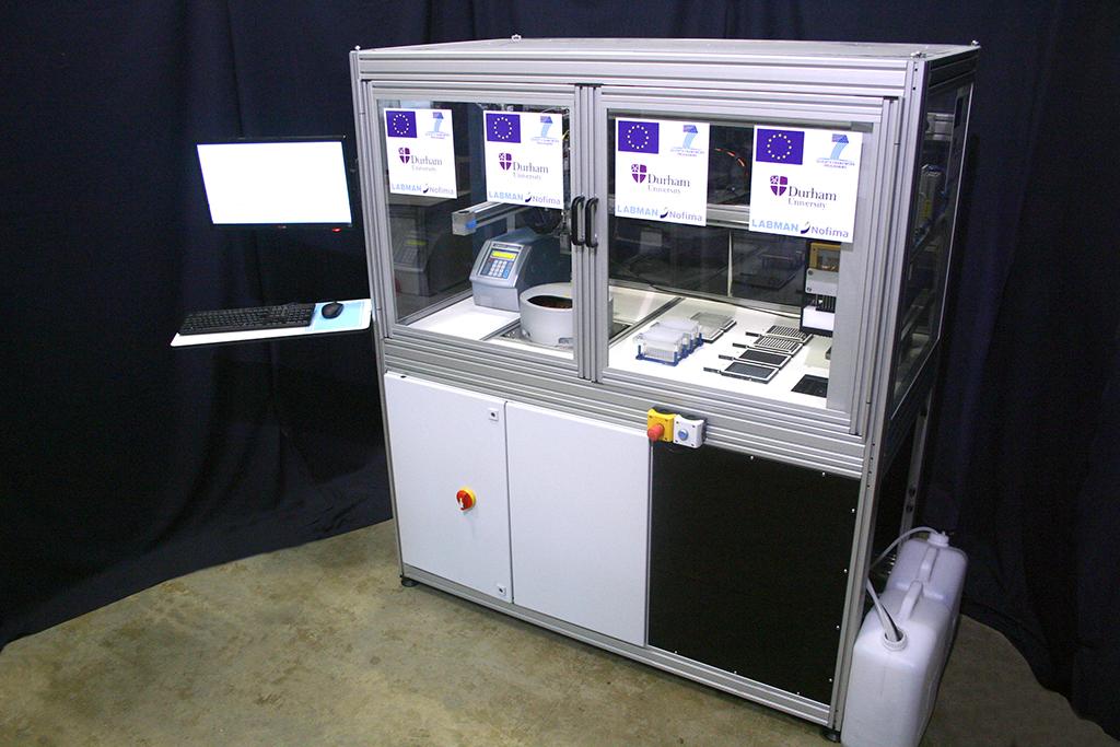 Food Contamination Analysis System Labman