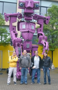 labman and the purple robot