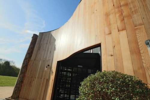 Labman seamer stokesley gates wooden metal foliage