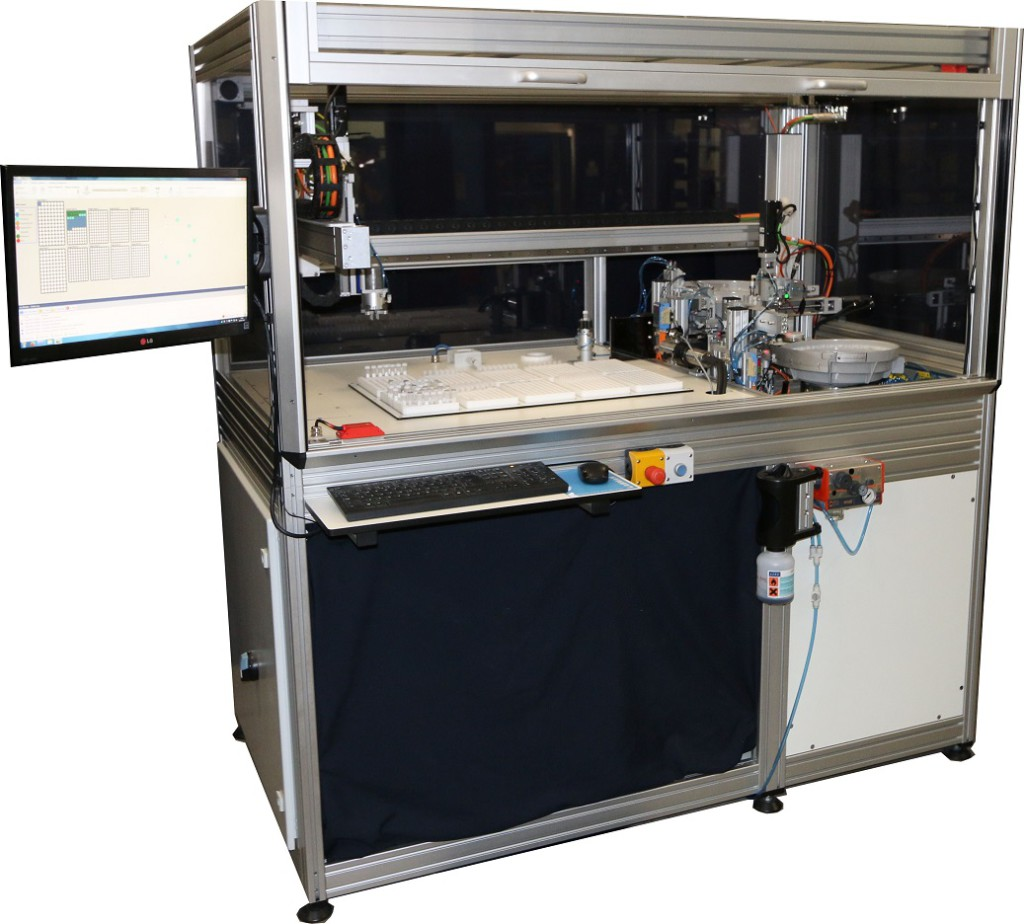 Automated Seed Dispensing System Labman