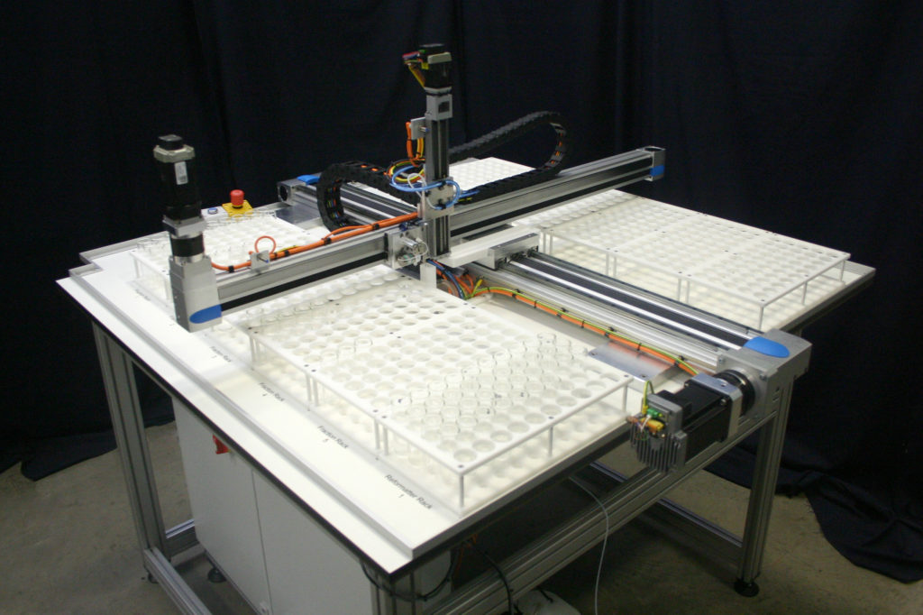 Fraction Collector and Sample Re-Formatting System Labman