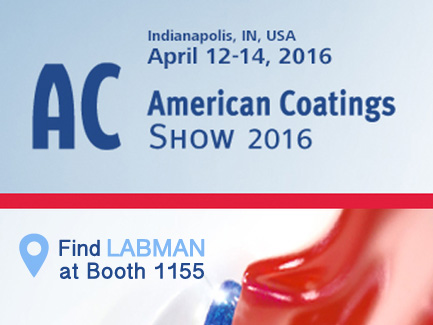 Labman at the American Coatings Show 2016 Logo
