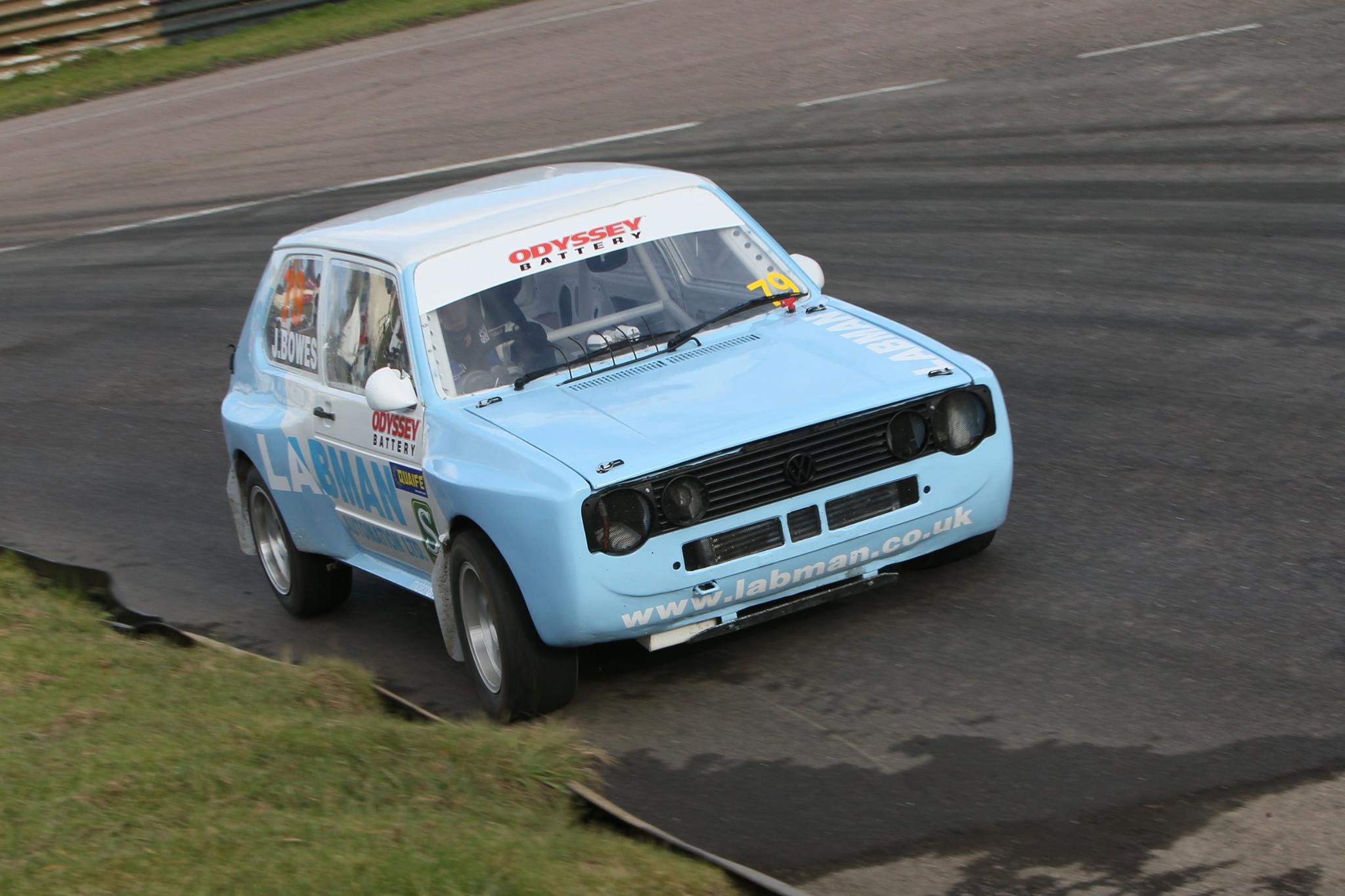 Labman Sponsored MK1 VW Golf Gti Turbo Round 2 Lydden Hill British Retro Rallycross Championship