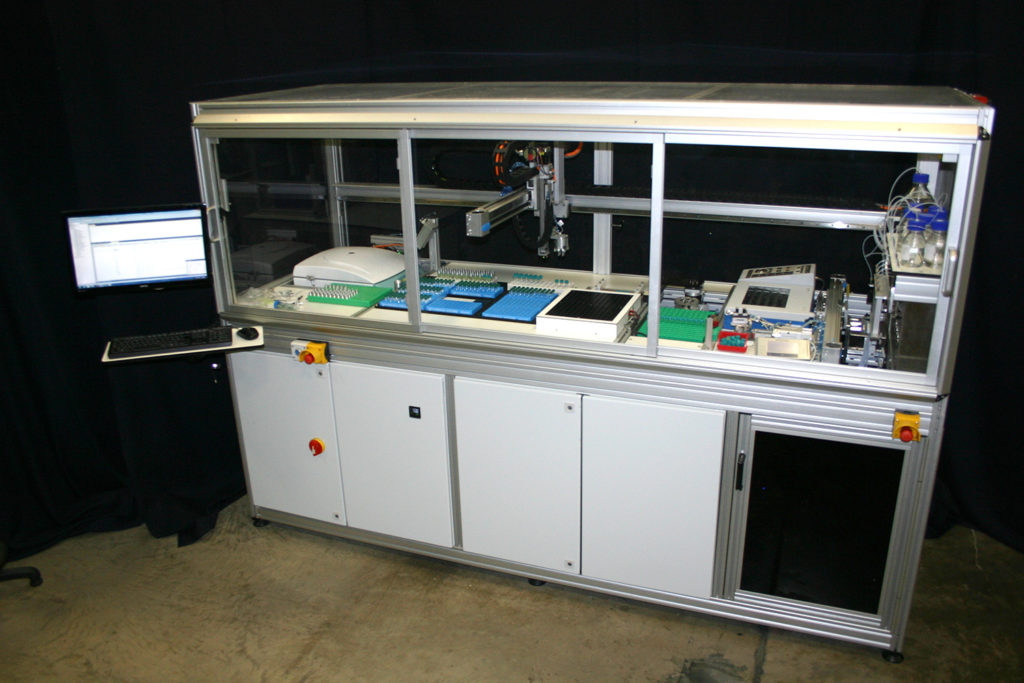 Automated Metabolite Extraction System