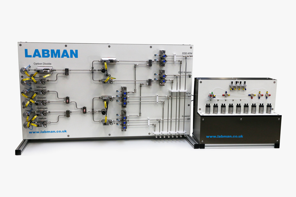 Automated-Gasses-and-Liquids-Mixing-System
