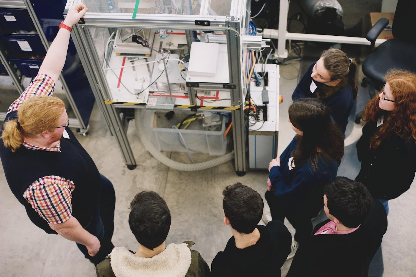 Durham University Solar Car Team Visit Labman Advanced Engineering Automation