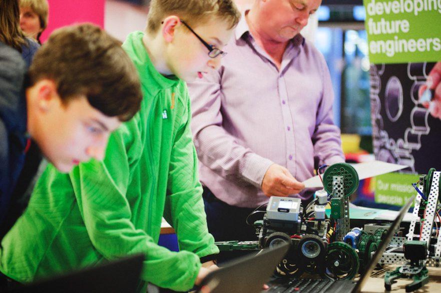 Nunthorpe Academy Robotics Mini Robots Raspberry Pi