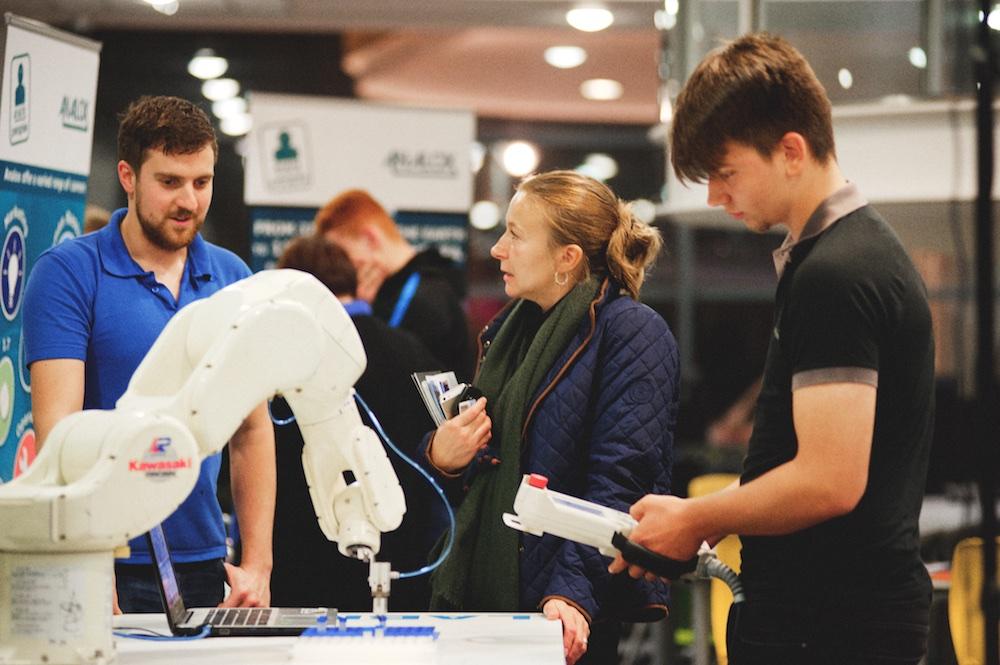 Nunthorpe Academy Robotic Arm Demonstration