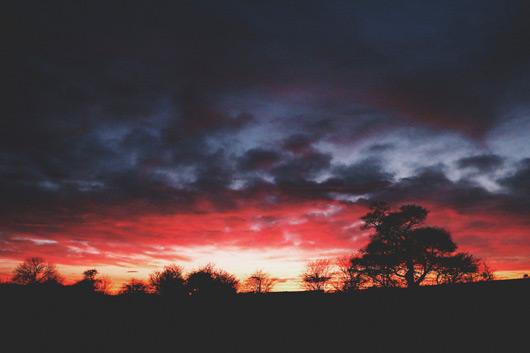 Sunset North Yorkshire Labman