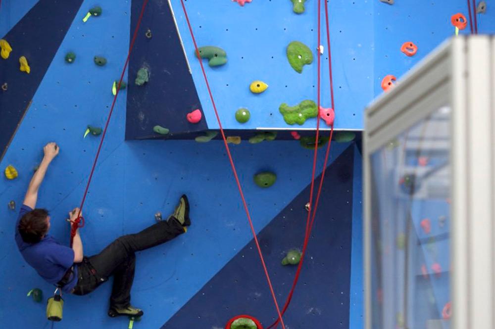 Labman climbing wall work