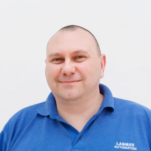 Labman Automation Team Member Photo engineer
