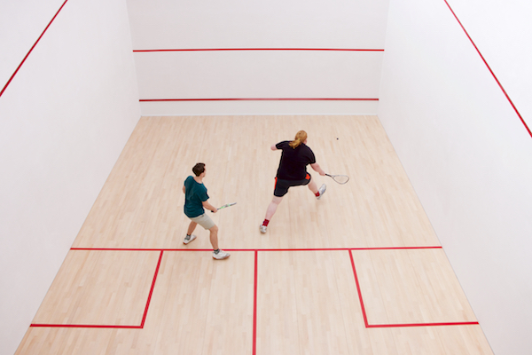 Squash Court at Work Office Labman Automation