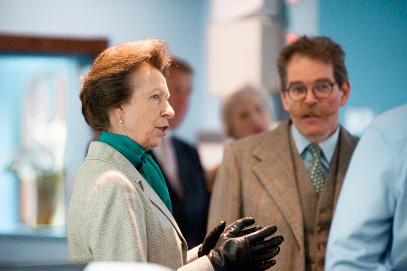 Labman Princess Anne Visit princess royal north Yorkshire Stokesley
