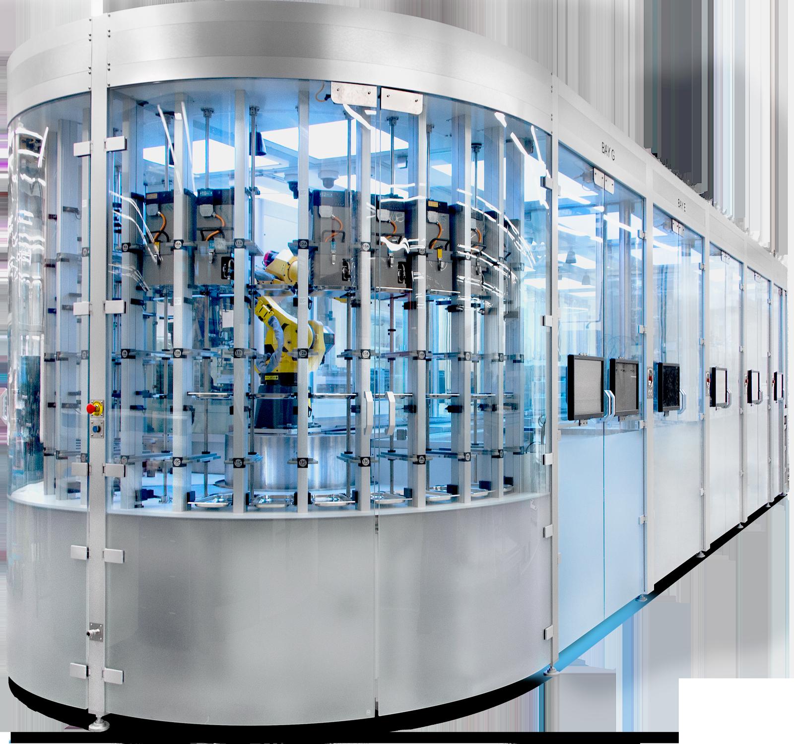 Liverpool University Materials Innovation Factory MIF Labman Automated formulation engine laboratory robotics