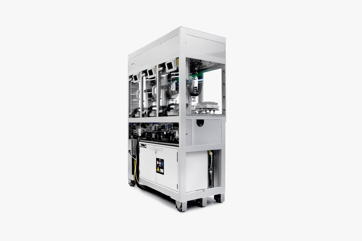 Liverpool University Materials Innovation Factory MIF Labman Automated formulation engine triple overhead mixer module
