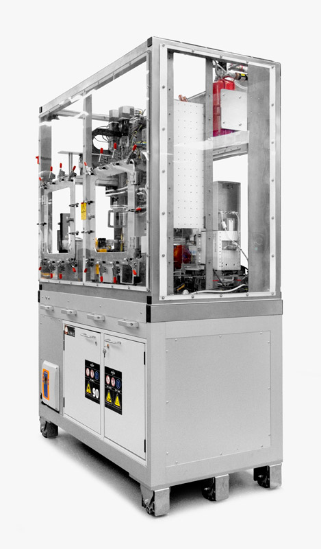 Liverpool University Materials Innovation Factory MIF Labman Automated inert processing module formulation engine