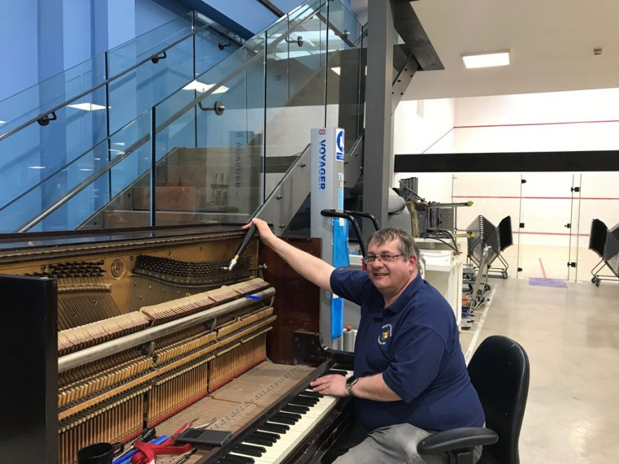 piano tuner work office alex fender middlesbrough stokesley