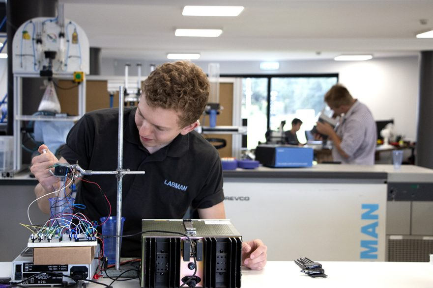 Joshua's Internship at Labman Automation