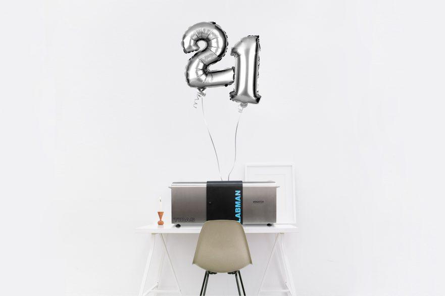 A TIDAS Unit Celebrating it's 21st Birthday