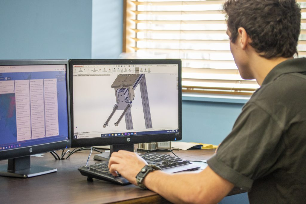 Jordan using Solidworks software