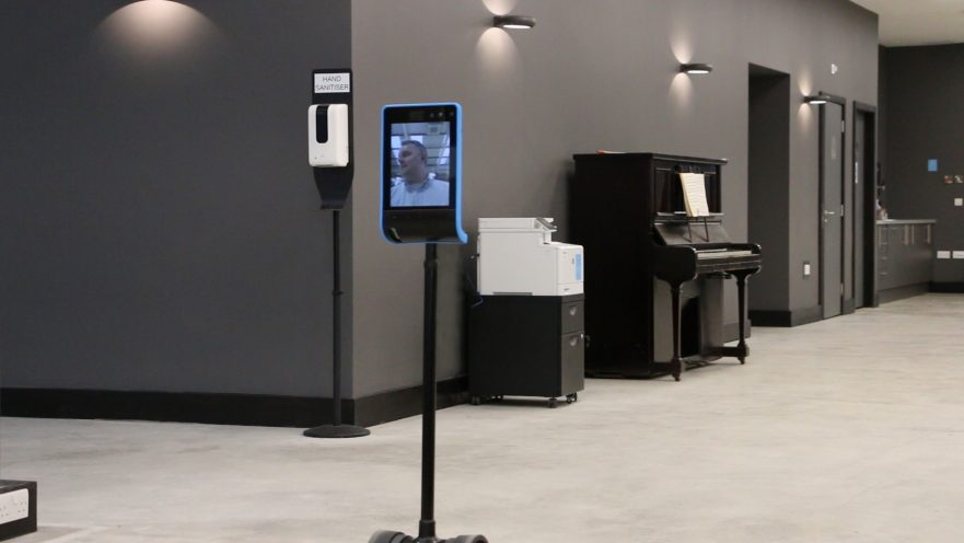 Double 3 Telepresence Robot at Labman