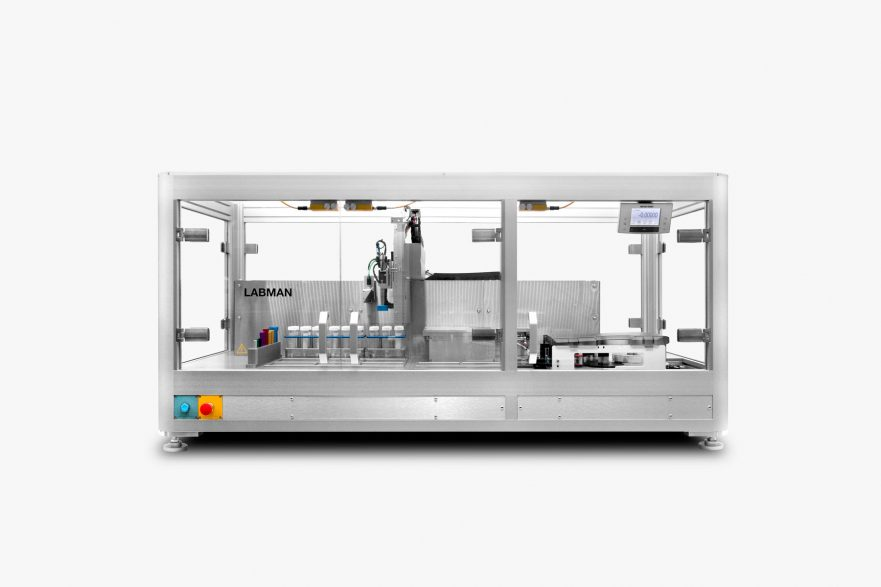 Vial Weighing and Labelling System